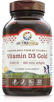 Nutrigold Vitamin D3 Gold