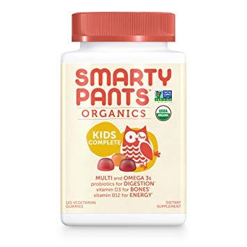 SmartyPants Vegetarian Organic Kids Daily Gummy Vitamins: Multivitamin
