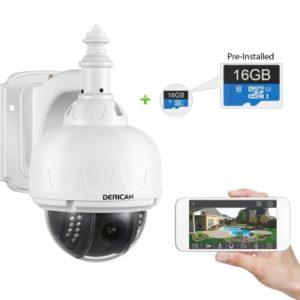 Dericam Outdoor WiFi IP Security Camera