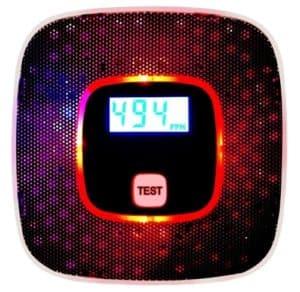 Sunnec Carbon Monoxide Alarm with Voice Warning