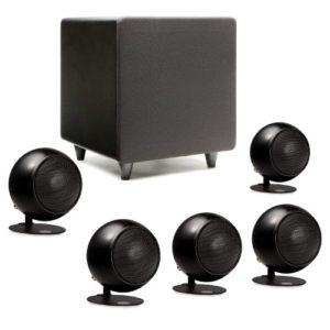 Orb Audio Mini 5.1 Home Theater Speaker System (Black)