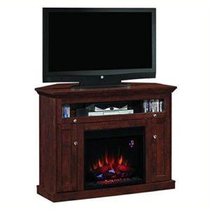 Windsor Corner Infrared Electric Fireplace Media Cabinet 23DE9047-PC81-min
