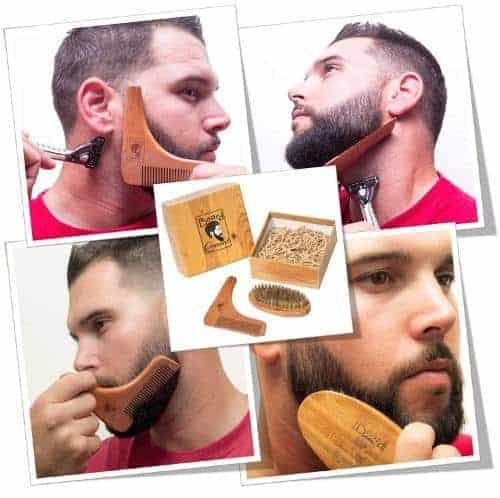 Beard Comb and Brush Set
